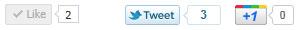 Facebook, Twitter & Google+ Social Widgets ボタン