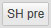 WP SyntaxHighlighter 「SH pre」ボタン